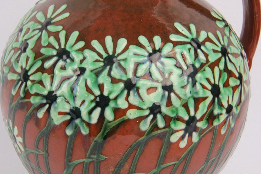 James Miles German Max Laeuger Art Nouveau Flower Jug