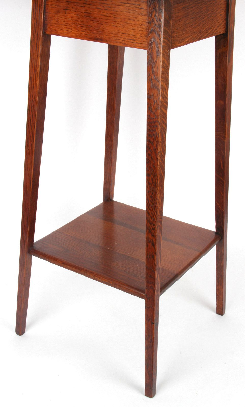 This Is A Very Useful Arts And Crafts Simple Small Oak Side Table, Perfect  For Putting A Lamp On. It Is Well Made Using Choice Timber.