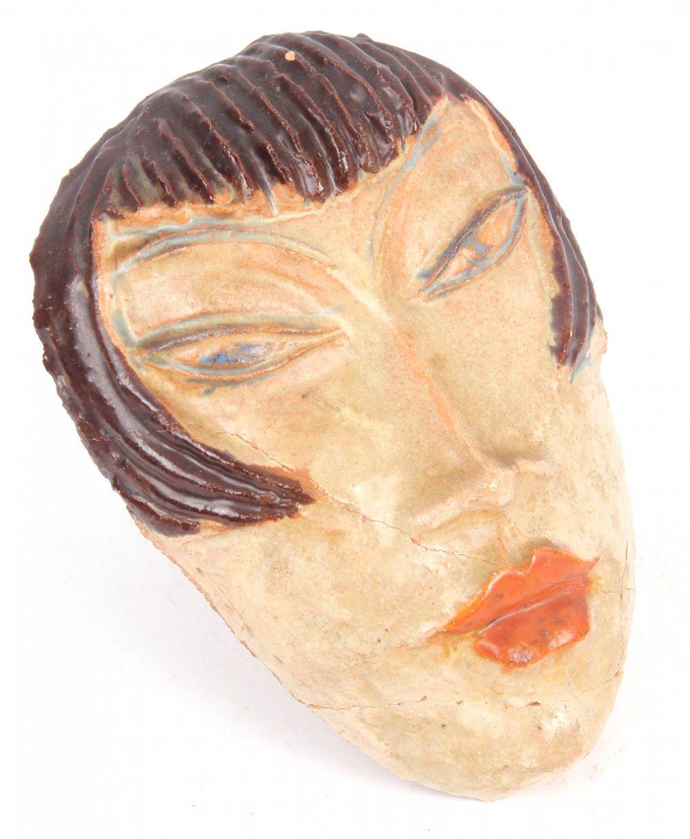 James Miles: Alice Ehmann Art Deco Modernist German Pottery Face ...